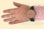 kéz vaj vágott mágneses karpánt