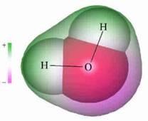 vízmolekula dipól